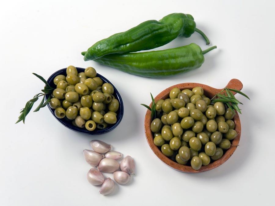 Dieta mediterranea. Aceitunas Sor Ángela de la Cruz.